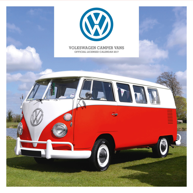 calendário 2021 volkswagen - camper vans em europosters.pt