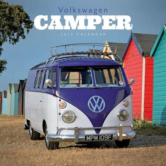 Calendário 2017 VW Volkswagen - Camper
