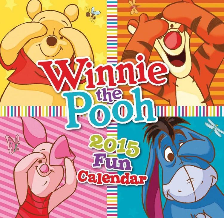 Calendário 2017 Winnie the Pooh