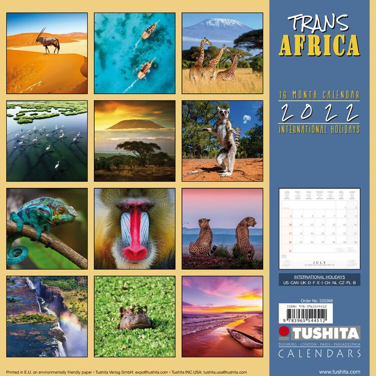Calendar 2022 Africa