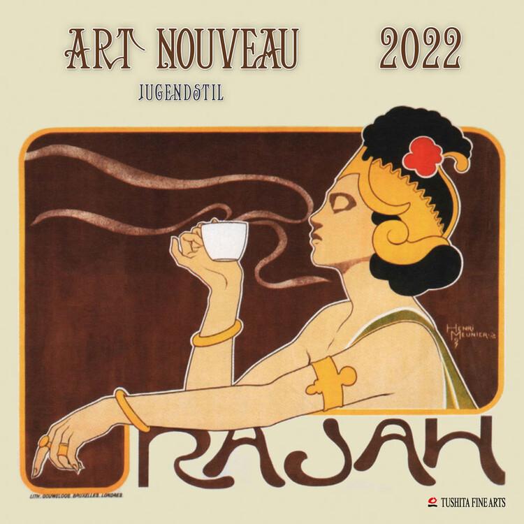Calendar 2022 Art Nouveau