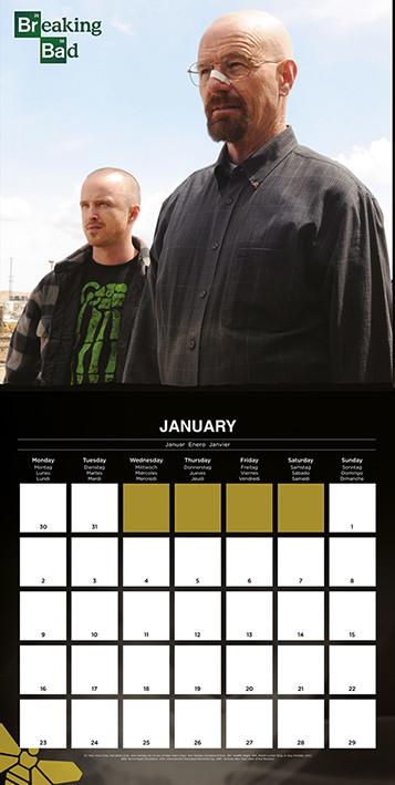 Calendar 2017 Breaking Bad