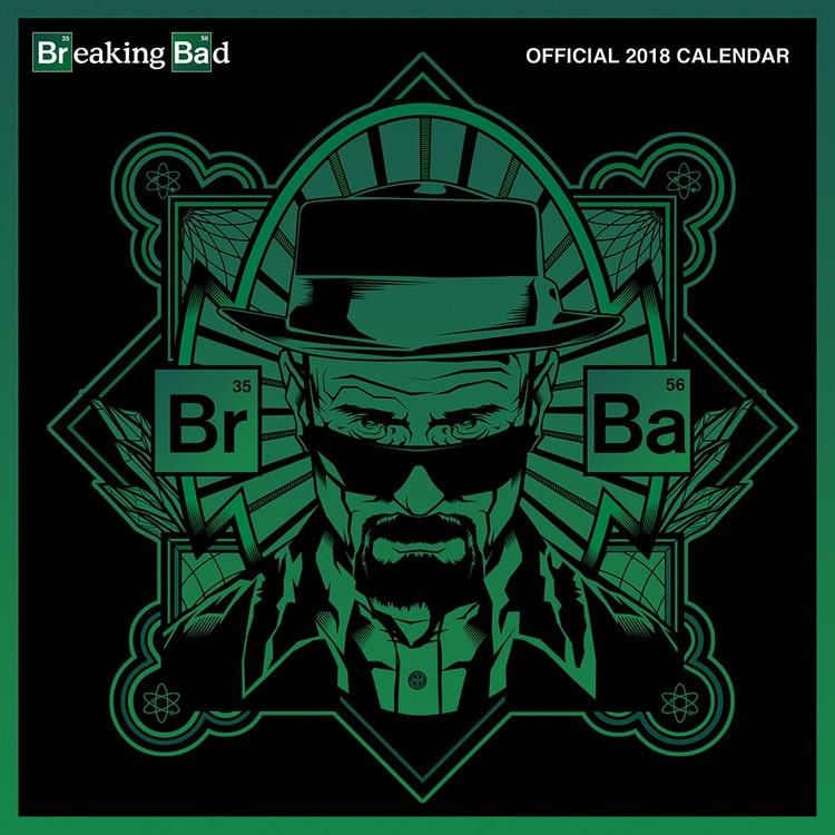 Calendar 2018 Breaking Bad