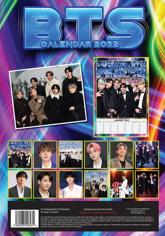 Calendar 2022 BTS