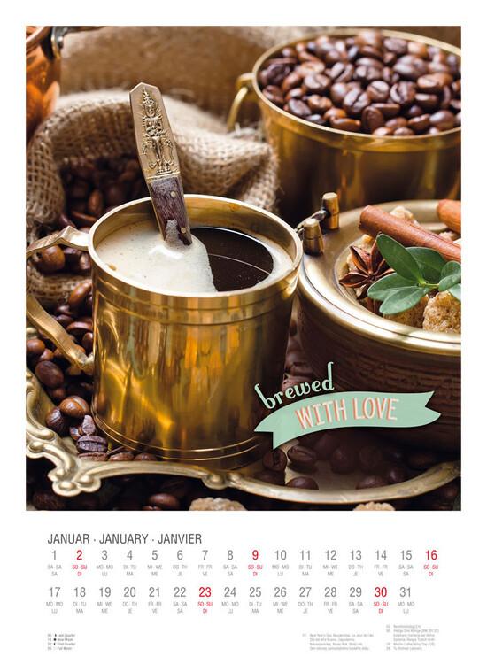 Calendar 2022 Coffee