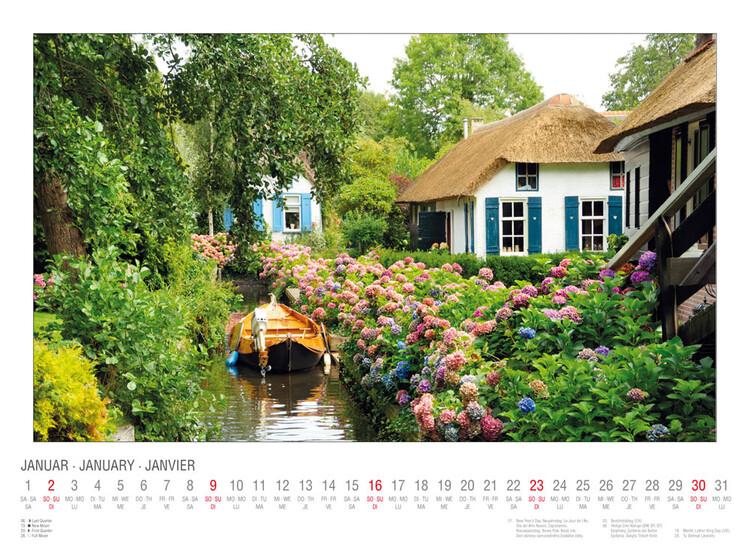 Calendar 2022 Cottage Garden
