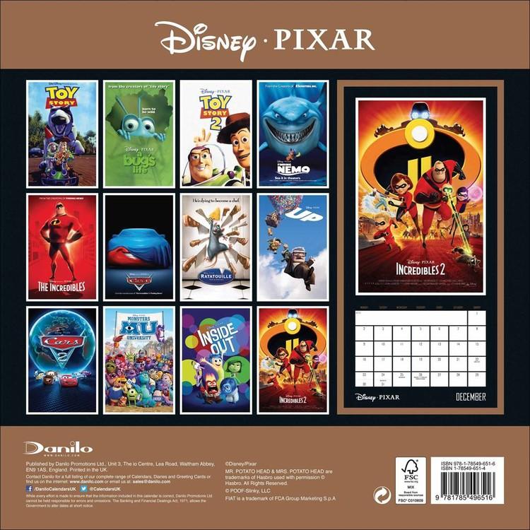 Calendrier 2022 Disney Disney   Pixar   Wall Calendars 2022 | Large selection
