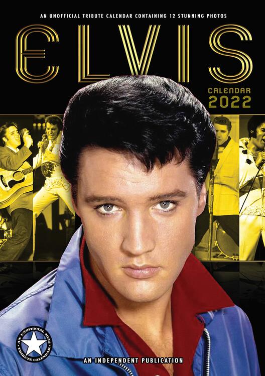 Calendar 2022 Elvis Presley