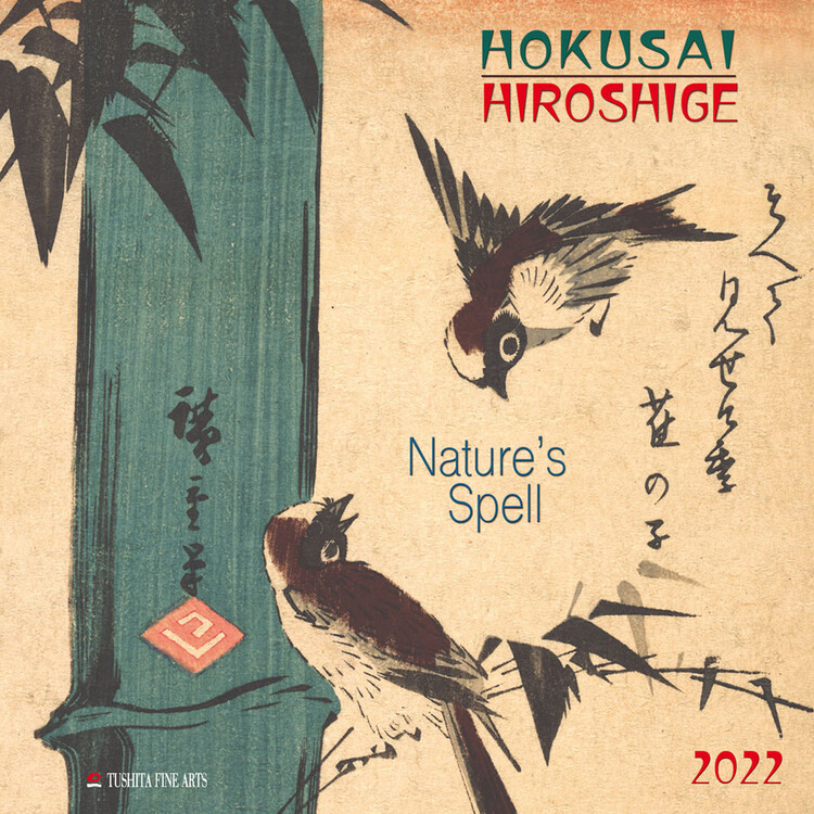 Calendar 2022 Hokusai/Hiroshige - Nature's Spell