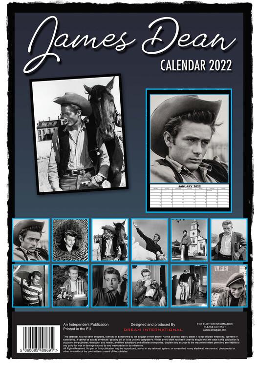 Calendar 2022 James Dean