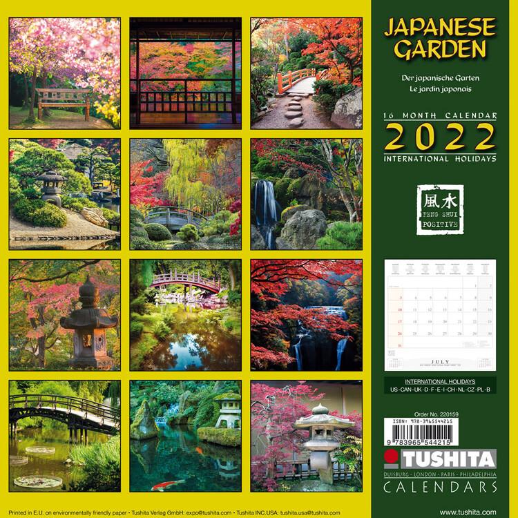 Calendar 2022 Japanese Garden