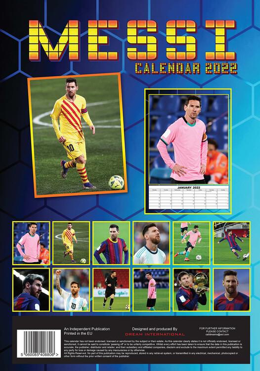 Calendar 2022 Lionel Messi