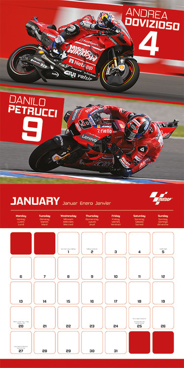 Calendrier 2022 Motogp Moto GP   Wall Calendars 2022 | Large selection