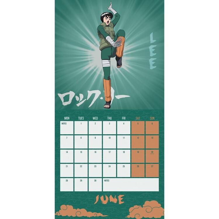 Calendrier Manga 2022 Naruto (Manga)   Wall Calendars 2022   Large selection