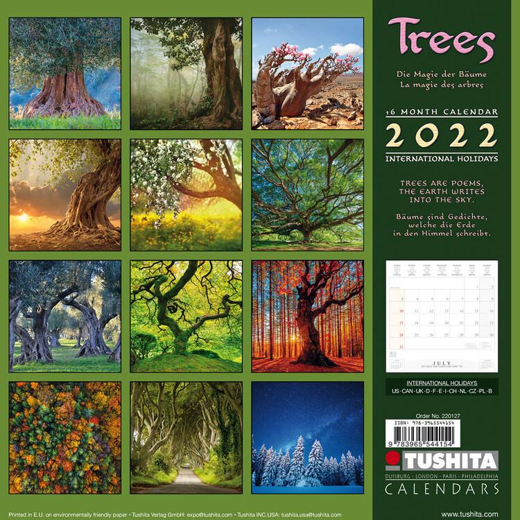 Calendar 2022 Trees