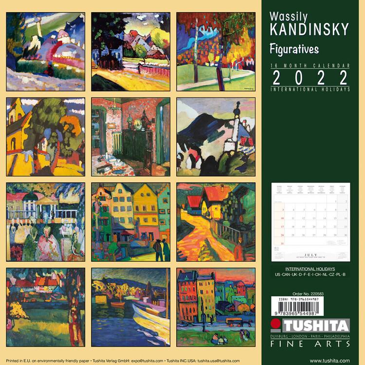 Calendar 2022 Wassily Kandinsky - Figuratives