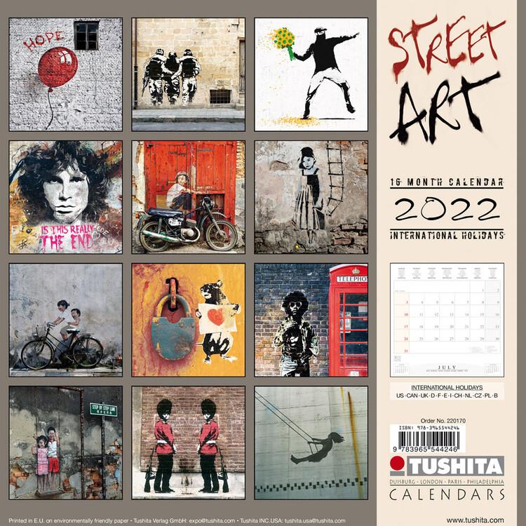 Calendar 2022 World Street Art
