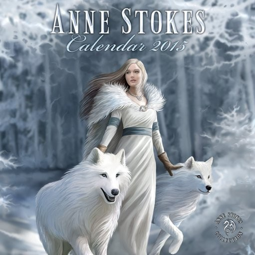 Anne Stokes Calendrier 2017