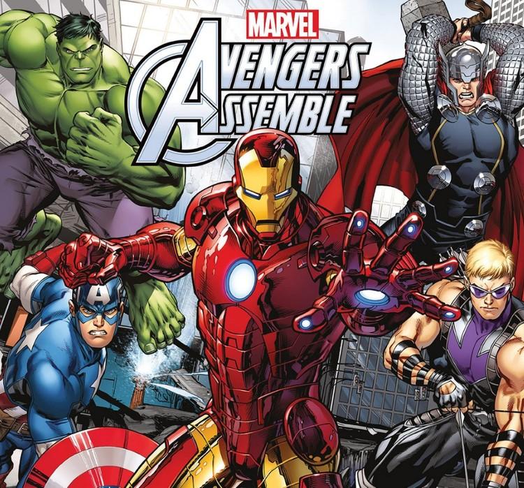 Avengers Calendrier 2017