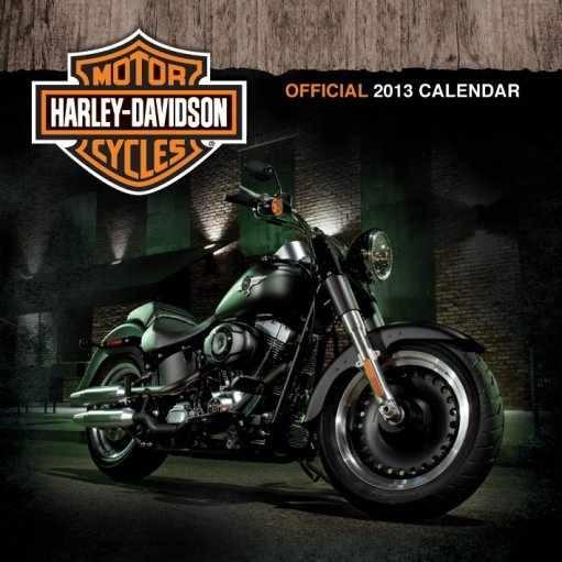 Calendar 2013 - HARLEY DAVIDSON Calendrier 2017