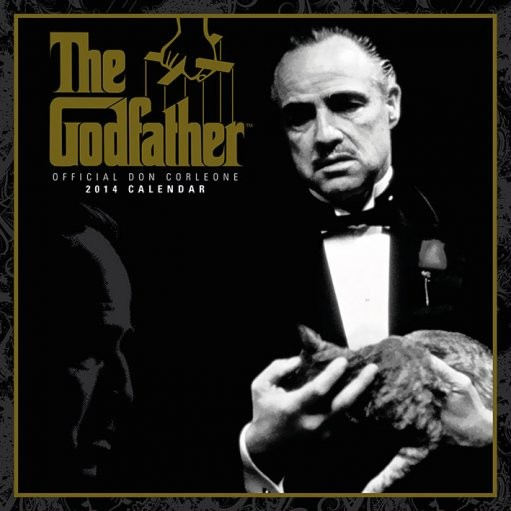 Calendar 2014 - GODFATHER Calendrier 2017