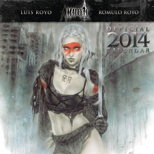 Calendar 2014 - LUIS ROYO Calendrier 2017