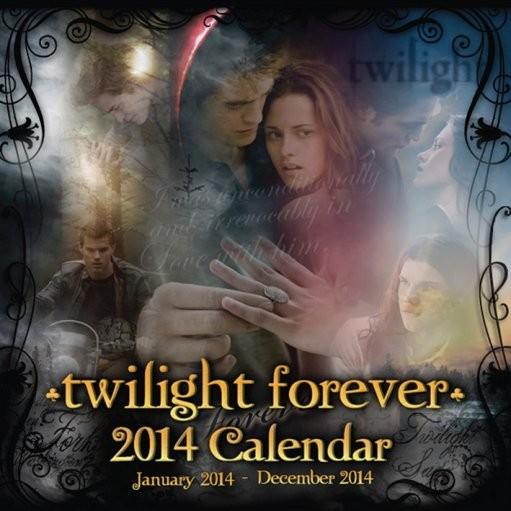 Calendar 2014 - TWILIGHT forever Calendrier 2017