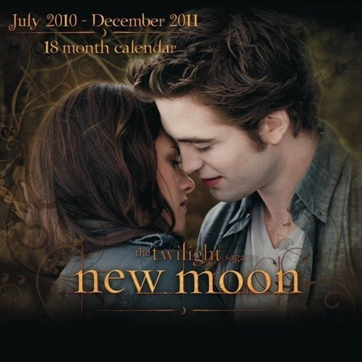Calendrier 2011 - Twilight New Moon / EDWARD Calendrier 2017