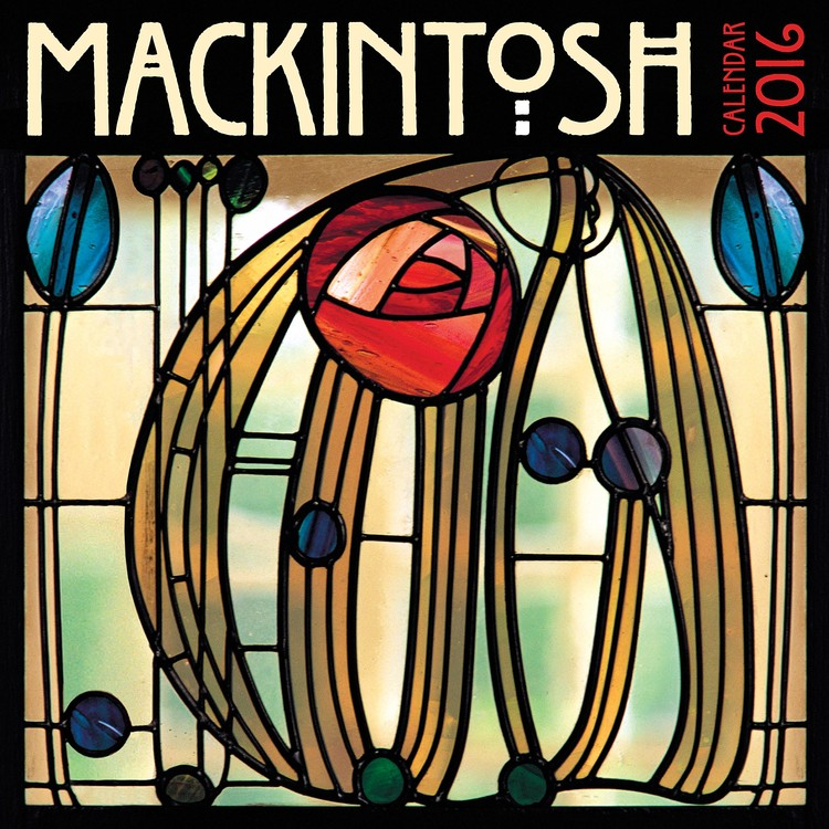 Charles Rennie Mackintosh Calendrier 2017