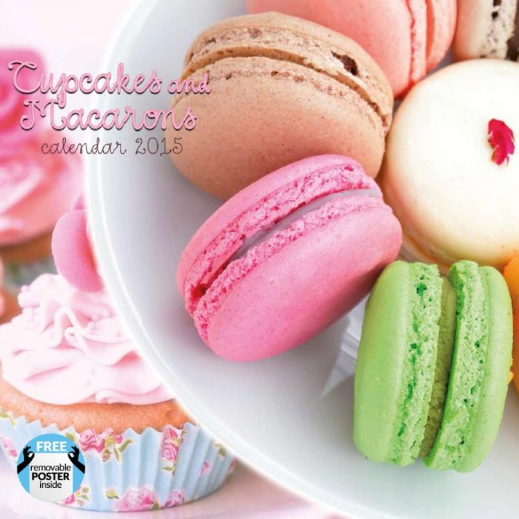 Cupcakes & Macarons Calendrier 2017