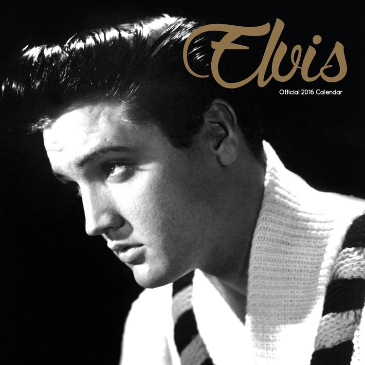Elvis Presley Calendrier 2017