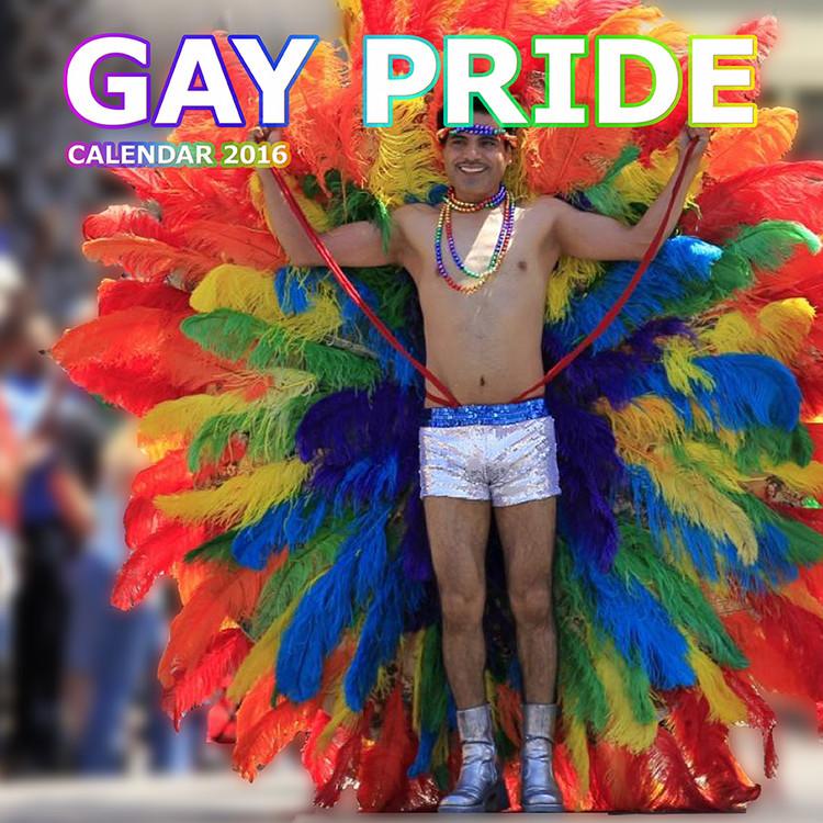 Gay Pride Calendrier 2017