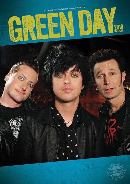 Green Day Calendrier 2017