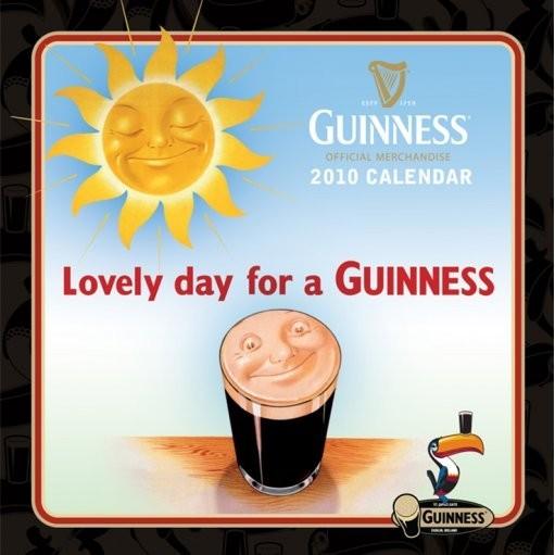 Kalendář 2010 Guinness Calendrier 2017