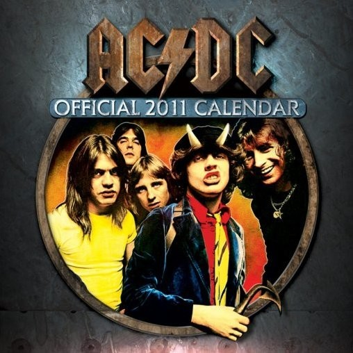Kalendář 2011 - AC/DC Calendrier 2017