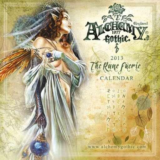 Kalendář 2013 - ALCHEMY Calendrier