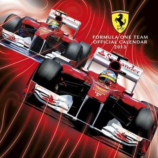 Kalendář 2013 - FERRARI F1 Calendrier 2017