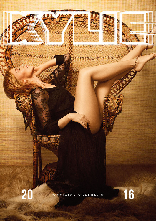 Kylie Minoque Calendrier