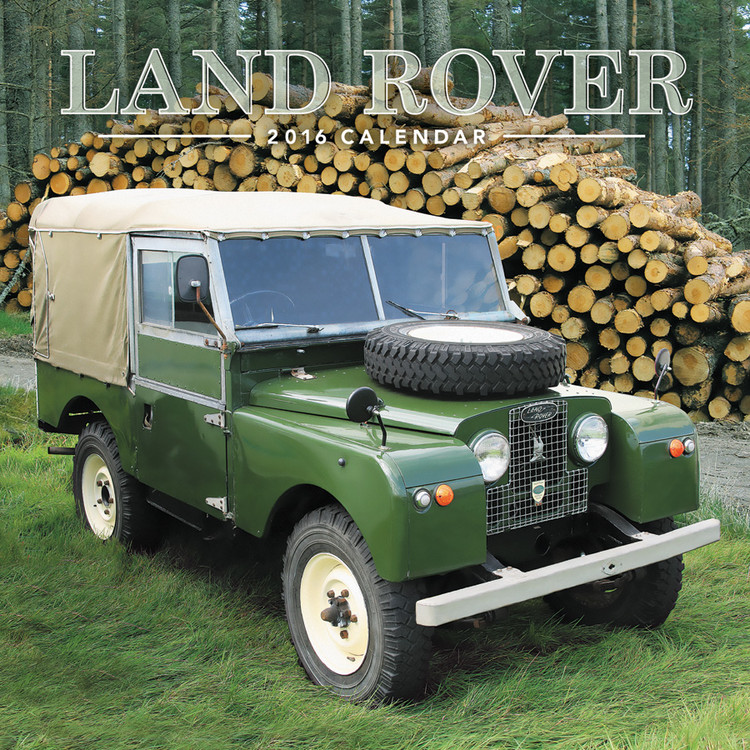 Land Rover Calendrier 2017