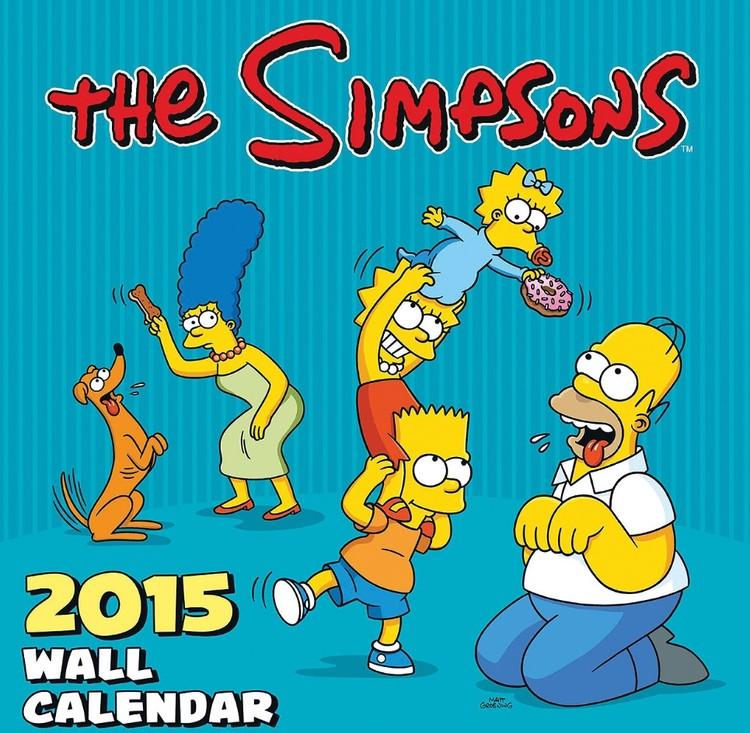 Les Simpson Calendrier 2017