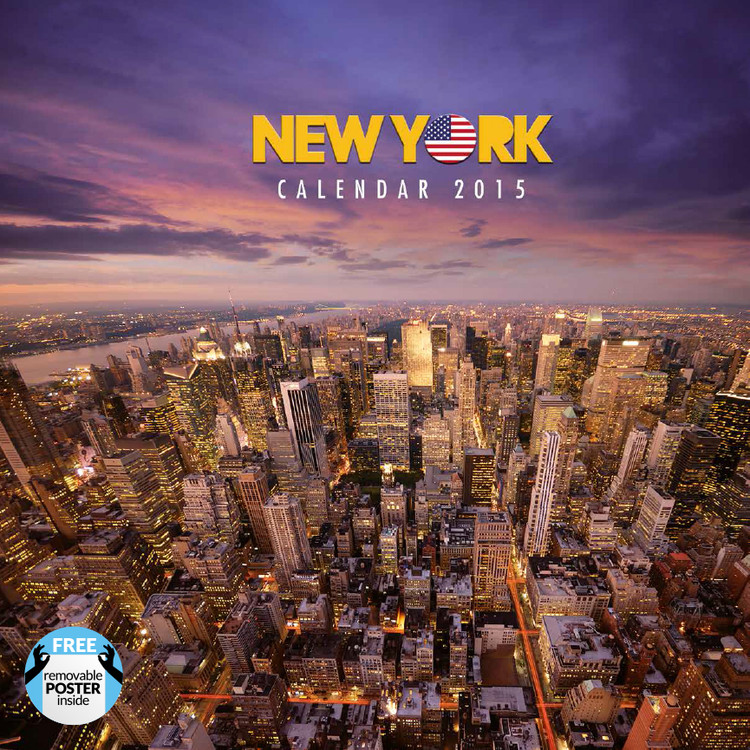 New York Calendrier 2017