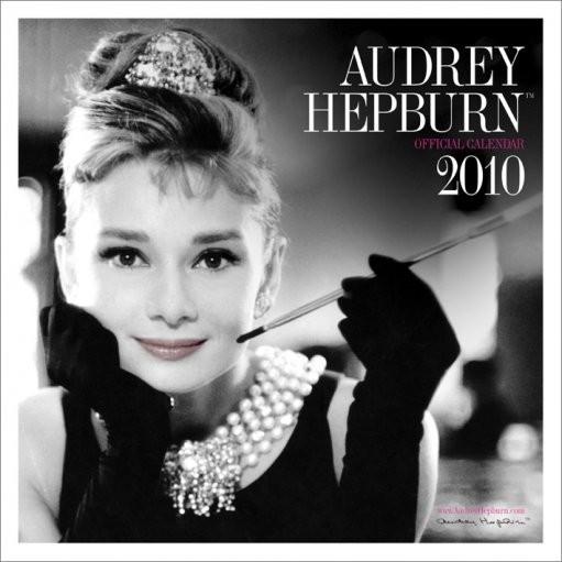 Official Calendar 2010 Audrey Hepburn Calendrier 2017