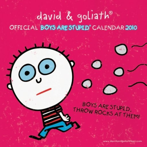 Official Calendar 2010 D&G Boys are stupid Calendrier 2017