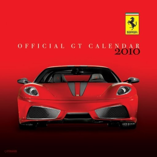 Official Calendar 2010 Ferrari GT Calendrier 2017