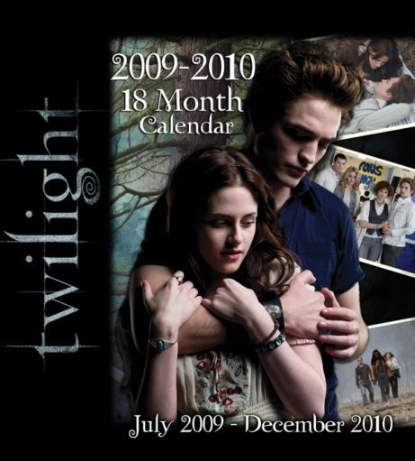 Official Calendar 2010 Twilight  Calendrier 2017