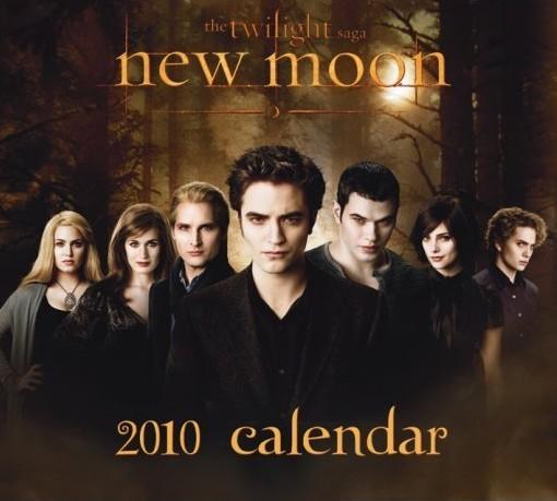 Official Calendar 2010 Twilight New Moon Calendrier 2017