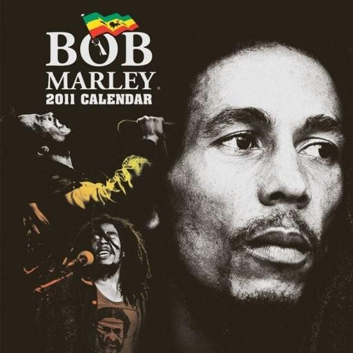 Official Calendar 2011 - BOB MARLEY Calendrier 2017