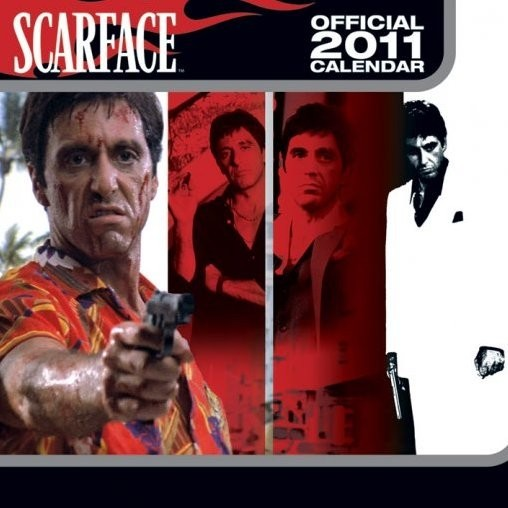 Official Calendar 2011 - SCARFACE Calendrier 2017