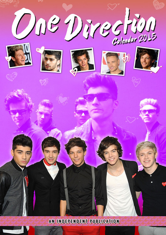 One Direction Calendrier 2017