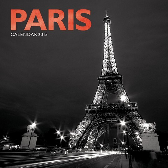 Paris Calendrier 2017